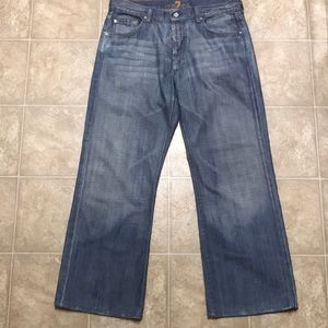 7 For All Mankind Men's Jeans Size 34x30.